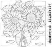 Sunflower Bouquet. Flowers...
