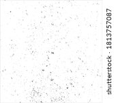 vector grunge black ink splats...   Shutterstock .eps vector #1813757087