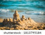 Sand Castle On The Seashore...