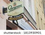 Vintage Sign At The Staropramen ...