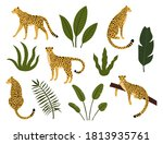 collection of silhouette...   Shutterstock .eps vector #1813935761