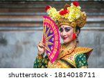 Balinese Dancer In Traditional...