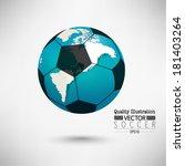 creative soccer vector design | Shutterstock .eps vector #181403264