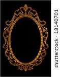 ornate picture or mirror frame | Shutterstock . vector #18140701