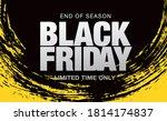 black friday sale banner layout ...   Shutterstock .eps vector #1814174837