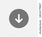 download arrow icon on... | Shutterstock .eps vector #1814179847
