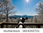 Picture Of A Telescope Looking...