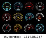 Car Speedometer Vector Icons Of ...