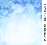 abstract watercolor blue...   Shutterstock . vector #1814356211
