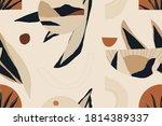 modern minimalist abstract... | Shutterstock .eps vector #1814389337