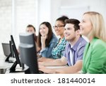 education concept   students... | Shutterstock . vector #181440014
