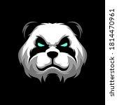 panda head logo gaming mascot... | Shutterstock .eps vector #1814470961