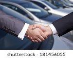 car dealership | Shutterstock . vector #181456055