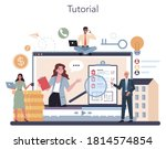 qualified real estate agent or...   Shutterstock .eps vector #1814574854