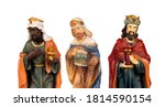 The Three Wise Men. Ceramic...
