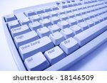 close up of computer keyboard... | Shutterstock . vector #18146509