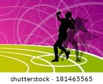 active shot putter woman sport... | Shutterstock .eps vector #181465565