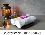 White Cotton Spa Towel Cloths...