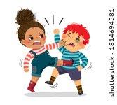 vector illustration cartoon of... | Shutterstock .eps vector #1814694581