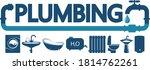 plumbing maintenance service... | Shutterstock .eps vector #1814762261
