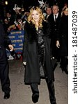 Постер, плакат: Madonna at talk show