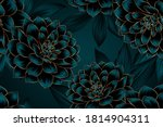 luxurious vintage seamless... | Shutterstock .eps vector #1814904311