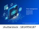 time management  business... | Shutterstock .eps vector #1814956187