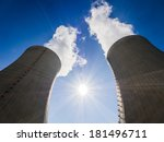 cooling towers of nuclear power ...