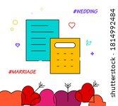 wedding budget filled line...
