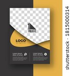 business flyer with space of... | Shutterstock .eps vector #1815000314