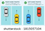 differences between right hand... | Shutterstock .eps vector #1815057104