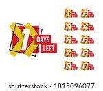 countdown 1 to 10  days left...