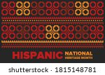national hispanic heritage...   Shutterstock .eps vector #1815148781