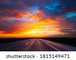 Straight Asphalt Highway...