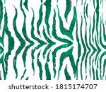 Zebra Skin Print. Animal...