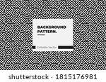 abstract seamless pattern... | Shutterstock .eps vector #1815176981