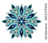 decorative vintage mandala with ... | Shutterstock .eps vector #1815179324