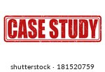 case study grunge rubber stamp...   Shutterstock .eps vector #181520759