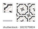 traditional palestinian floor... | Shutterstock .eps vector #1815270824