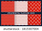 patriotic red  white and blue... | Shutterstock .eps vector #1815307004