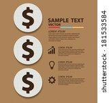 business concept vector...   Shutterstock .eps vector #181533584