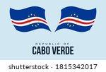 cape verde flag state symbol...