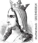 Isabella I Of Castile  Vintage...