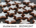 Star Shaped Cookies. Homemade...