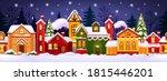 seamless christmas winter... | Shutterstock .eps vector #1815446201