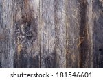 aged reclaimed wood background. ... | Shutterstock . vector #181546601