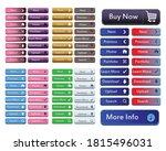 website button vector element...   Shutterstock .eps vector #1815496031