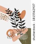 botanical vintage print boho...   Shutterstock .eps vector #1815562937