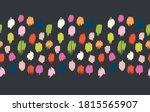 polka dot pattern. ikat...   Shutterstock .eps vector #1815565907