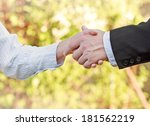 business handshake | Shutterstock . vector #181562219